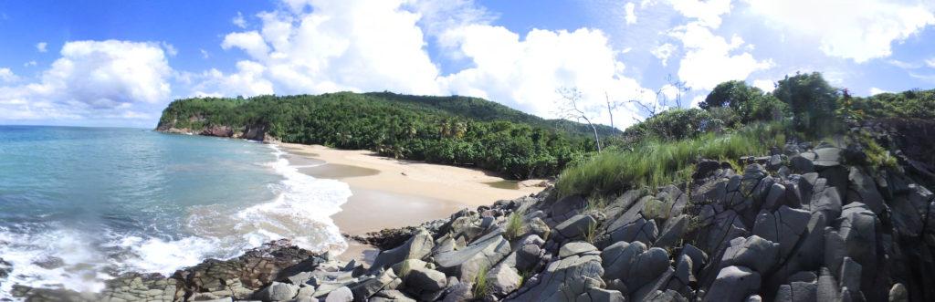 Visite virtuelle en 360° de la plage de Tillet (Deshaies – Guadeloupe)