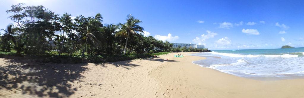 Visite virtuelle en 360° de la plage de Grand Bas vent/ Fort Royale ( Deshaies – Guadeloupe )